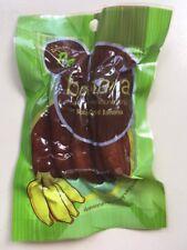 100% Bananas Solar Sun Dried Thai Fruit Snack Organic Natural Fruits Sugar free