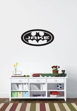 Personalised Batman wall sticker