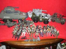 Mixed Lot of Lanard Corps,Chap Mei Army Figures Vehicles