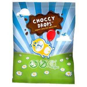 Moo Free Vegan, Gluten and Dairy free Organic Choccy Drops 25g Pack of 10
