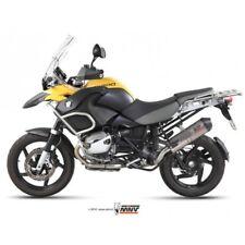 MIVV-Auspuff BMW R 1200 GS Bj.04-07 (OVAL,Titan Carbon-cap,Motorrad)