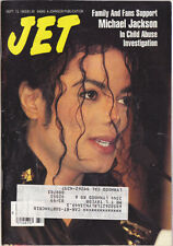 Michael Jackson JET American USA Magazine 1993