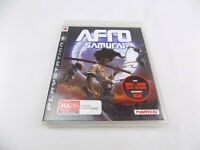 Mint Disc Playstation 3 Ps3 Afro Samurai Free Postage