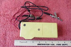 Vintage Western Electric Bell system 139-B Test Set with Alligator Clips