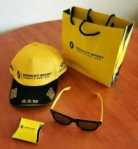 Renault F1 Team Paddock gift package Team Baseball cap, Sunglasses,Earplug