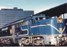 7B541 RP 1977 D&H DELAWARE & HUDSON RAILROAD ENGINE #19 BOSTON MA