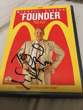 The Founder Dvd Signed By Michael Keaton