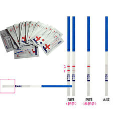 NEW 2015 10 PCS DG Lot Of Home UK Early Pregnancy Test Strips 5 Minute Results