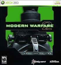 Call of Duty: Modern Warfare 2 -- Prestige Edition -- Microsoft Xbox 360