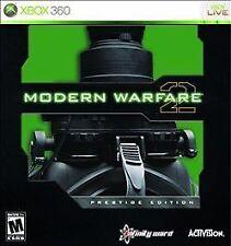 Call of Duty: Modern Warfare 2 -- Prestige Edition  (Xbox 360, 2009) Sealed