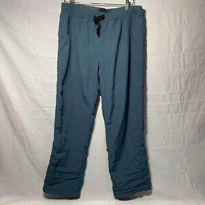 MENS GRAMICCI BLUE NYLON BELTED OUTDOOR HIKING CLIMBING PANTS SIZE L 29 LENGTH