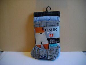 NEW 3 x Men's Calvin Sports 4xl Boxers Pant Underwear Y Fronts Blues