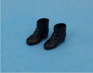 Vintage 1980 Mego Dukes of Hazzard #09050/1 Bo Duke Black High Top Boots C8