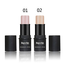 2 Colors New Pro Highlighter Stick Shimmer Powder Cream Waterproof Beauty Kit