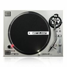 RELOOP RP-7000 SILVER HIGH-TORQUE PRO CLUB-STANDARD TURNTABLE