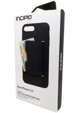 """Incipio Stowaway Credit Card Case For iPhone 7/8 4.7"""", 7/8 Plus 5.5"""" Protection"""