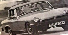 MG MIDGET 1500 - 1975 - Road Test removed from Autocar