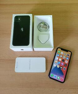 Boxed Apple iPhone 11 (A2221) - 64GB - Black (Vodafone) Smartphone
