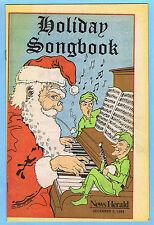 LAKE COUNTY, OHIO NEWS HERALD NEWSPAPER HOLIDAY SONGBOOK (DECEMBER 5, 1984)