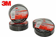 "3M TEMFLEX 1700 ELECTRICAL VINYL TAPE (4 ROLLS) BLACK 3/4"" x 60 FT INSULATED"