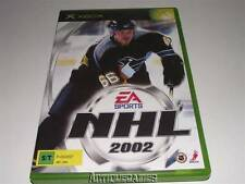 NHL 2002 EA Sports XBOX Original PAL *No Manual*