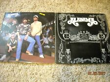 ALABAMA : 40 HOUR WEEK & FEELS SO RIGHT(2 LP LOT)WHOLESALE COUNTRY~VG