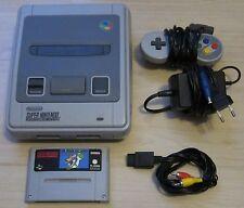 Super Nintendo Spiele Konsole mit Mario World Spiel + original Controller