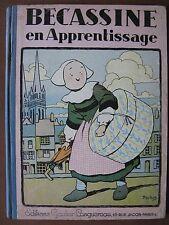BECASSINE EN APPRENTISSAGE  (1930)