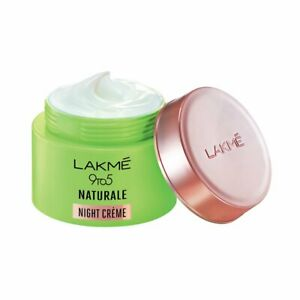9 to 5 Naturale Night Crem From Lakme For Combination Skin(50g) Women Free Shp.