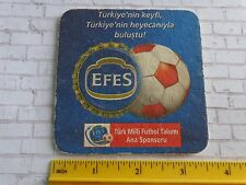 Beer Coaster ~  Anadolu Efes ~ Istanbul, Turkey ~ Soccer Footbal Futbol Sponsor