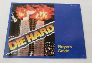 to complete Die Hard NES Instruction Manual AUTHENTIC original Nintendo diehard