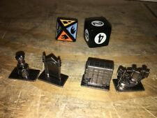 Harry Potter Scene It 2nd Edition Replacement Parts 4 Tokens Movers and 2 Dice