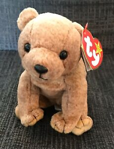 1999 Ty Beanie Baby Pecan The Brown Bear 🐻