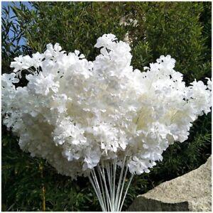 10x100cm Artificial Cherry Blossom Flowers Silk Sakura Branches for Wedding