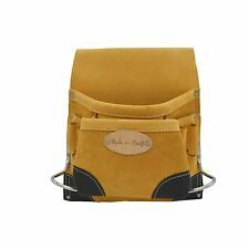 Style n Craft  93823 - 8 Pocket Nail & Tool Pouch in Top Grain Leather