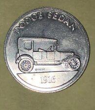 Dodge Sedan 1916 Antique Car Series 1 Commemorative Coin Token Sunoco DX