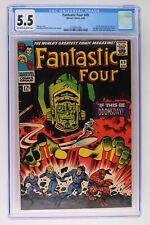 Fantastic Four #49 - Marvel 1966 CGC 5.5 1st full App Galactus!