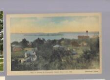 pk34319:Postcard-Bay of Quinte & Forester's Island,Deseronto,Ontario