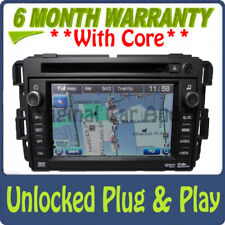 Unlocked Chevy Silverado Avalanche GMC OEM Radio NAVIGATION DVD Receiver