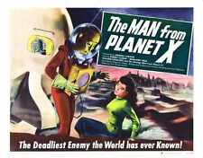 Man From Planet X Poster 03 Metal Sign A4 12x8 Aluminium