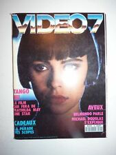 Magazine VIDEO 7 french #95 décembre 1989 cover Mathilda May