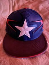New Era GENUNE Avengers Captain America Cap - Size 7 1/4 - BRAND NEW - Rare HTF