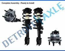 2004 2005 - 2012 Chevy Malibu Front Struts + Front Wheel Hub Assemblies With ABS