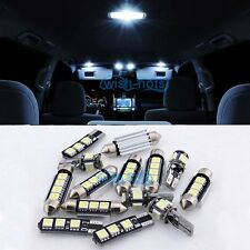 Interior White 8PCS Canbus LED Light Package Kit For 2000-2007 Benz W203 Class
