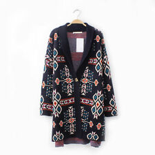 Women's Cotton Blend Sweatercoat Jumpers and Cardigans