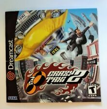 Crazy Taxi 2 (Sega Dreamcast) Replacement Manual Instructions ONLY