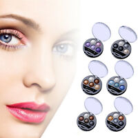 New 5 Colors Eyeshadow Palette Eye Shadow Nude Makeup Kit Set With Mirror+Brush