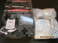 New Radio Shack Multi Phone Recording Control Model 43-2208