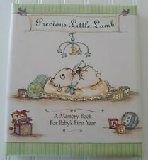 Dayspring Precious Little Lamb Baby First Year Memory Book Religious New