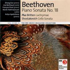 BEETHOVEN: PIANO SONATA 18 / BRITTEN: LACHRYMAE / SHOSTAKOVICH – BBC CD (2015)